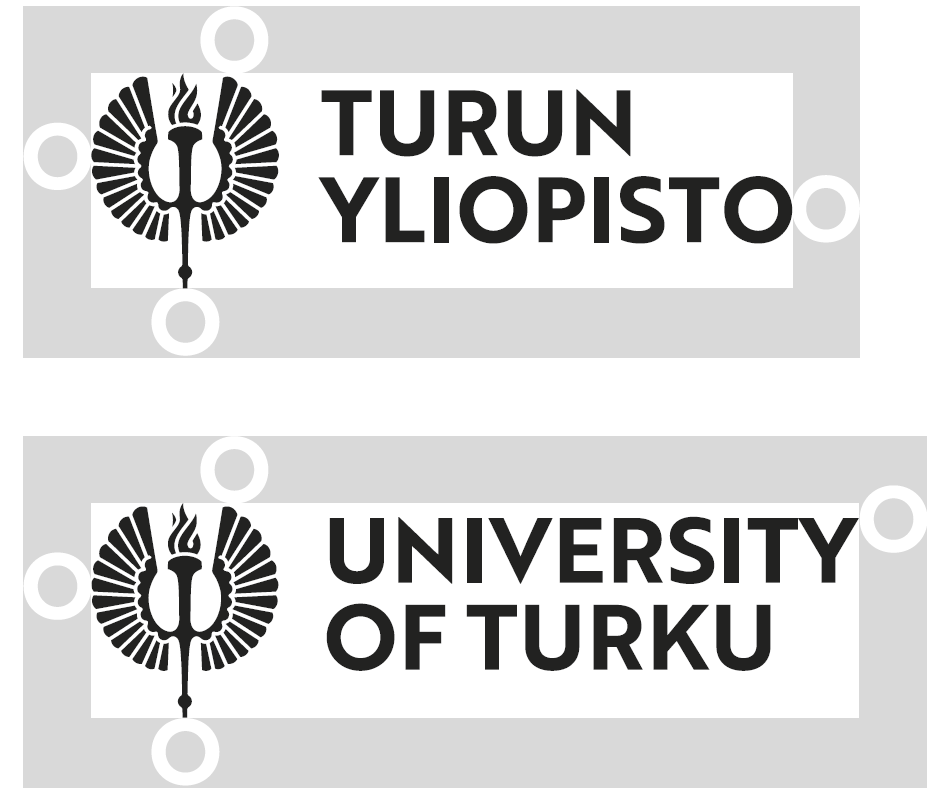Logo, Photos and Brochure of the University of Turku