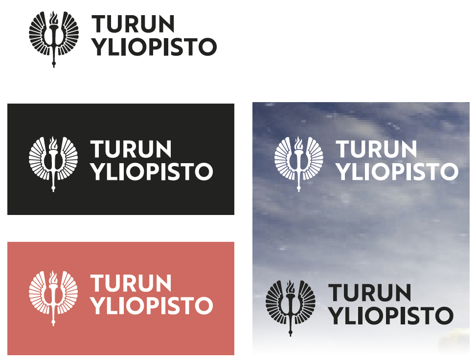 logo photos and brochure of the university of turku