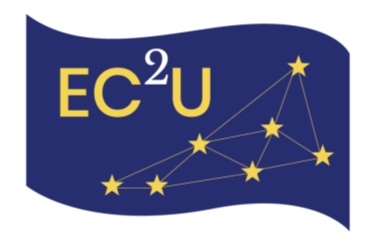 logo for European Campus of City-Universities with star for each memeber university