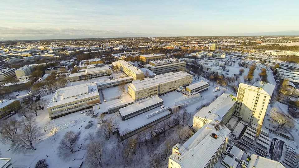 Turku Campus at winter