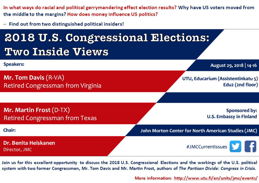 2018 U.S. Congressional Elections: Two Inside Views