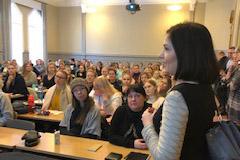 Sanni Grahn-Laasonen vieraili Raumalla opettajankoulutuslaitoksella 4.2.2019